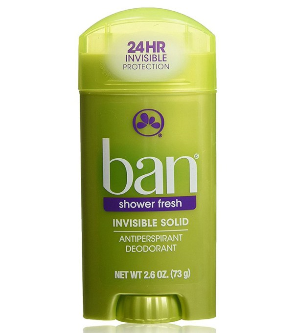 10 Best deodorants for the summer: Ban Shower Fresh Invisible Solid Antiperspirant Deodorant | Summer beauty products