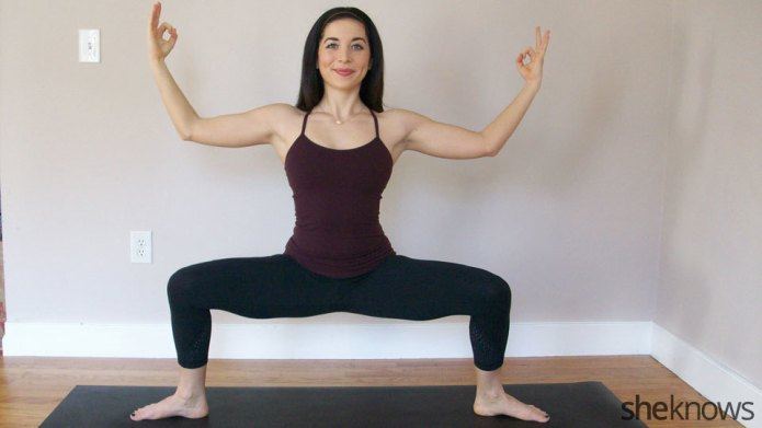 9 Yoga poses to help with