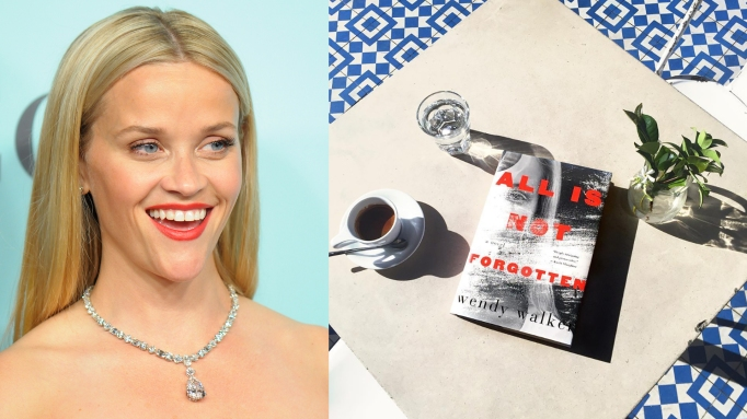 Reese Witherspoon and All Is Not Forgotten book cover
