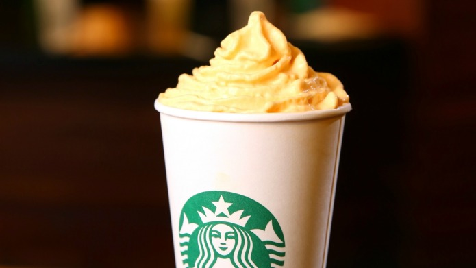 Starbucks is serving Pumpkin Spice Whip,
