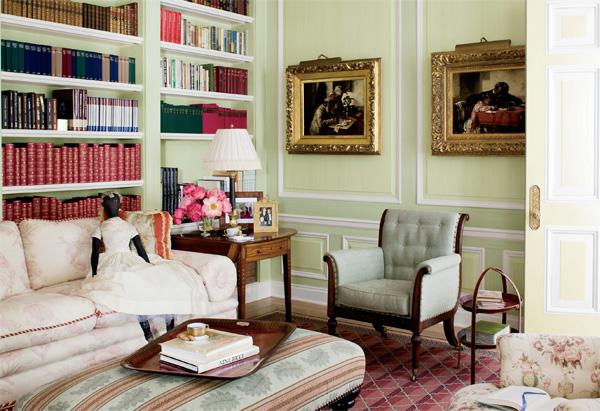 Oprah Winfrey's Montecito home library