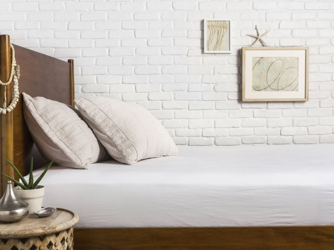 Parachute percale fitted sheet