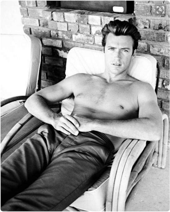 Clint Eastwood was so hot back in the day