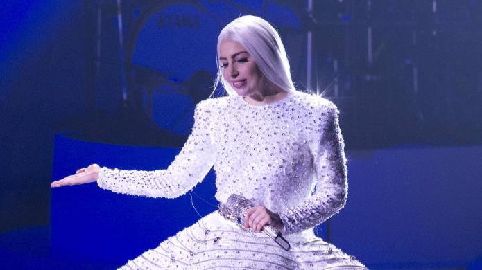 Lady Gaga broke up a fight