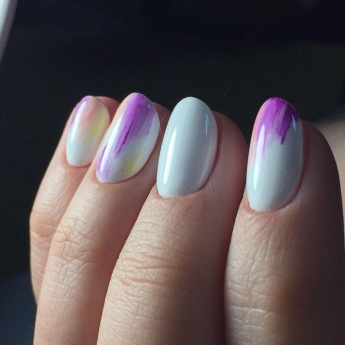 Pastel Marble Nail Art