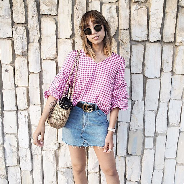 The Most-Pinned Summer Fashion Trends of 2017: Denim Skirts | Summer Fashion Trends