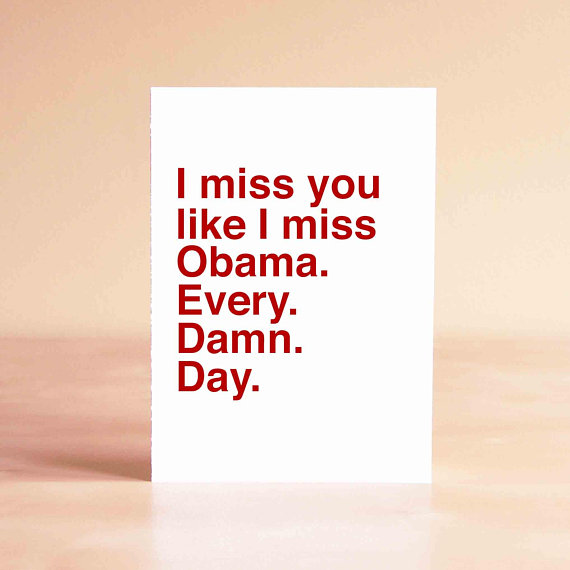 Obama Father's Day card