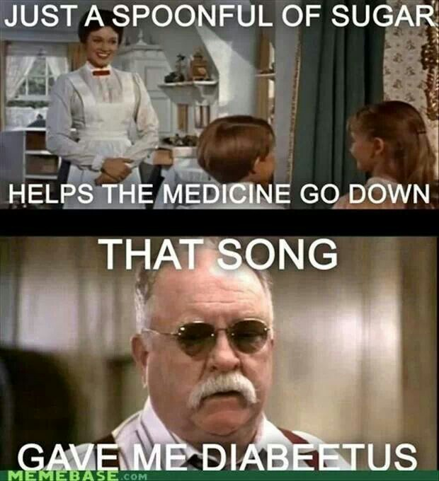 Mary Poppins Diabeetus meme