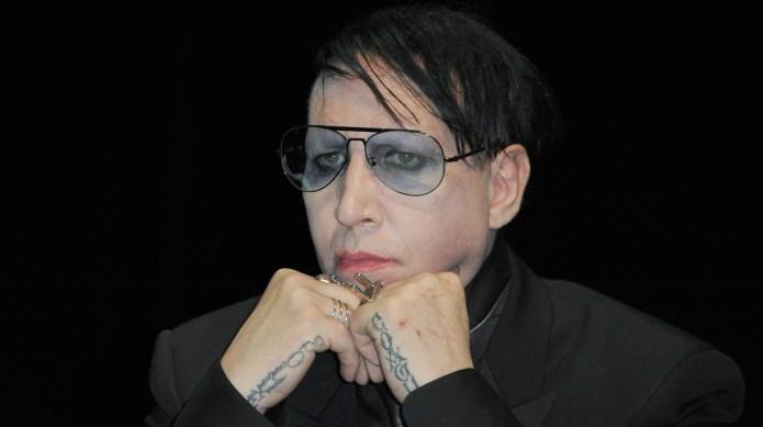 Marilyn Manson beheads Trump in new