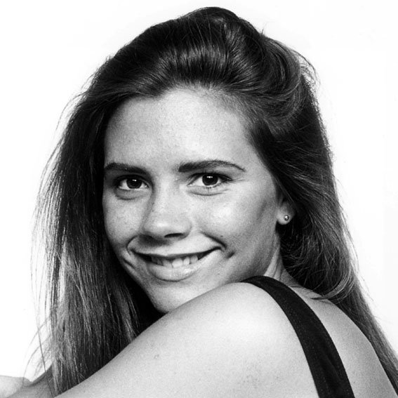Victoria Beckham Yearbook Photo