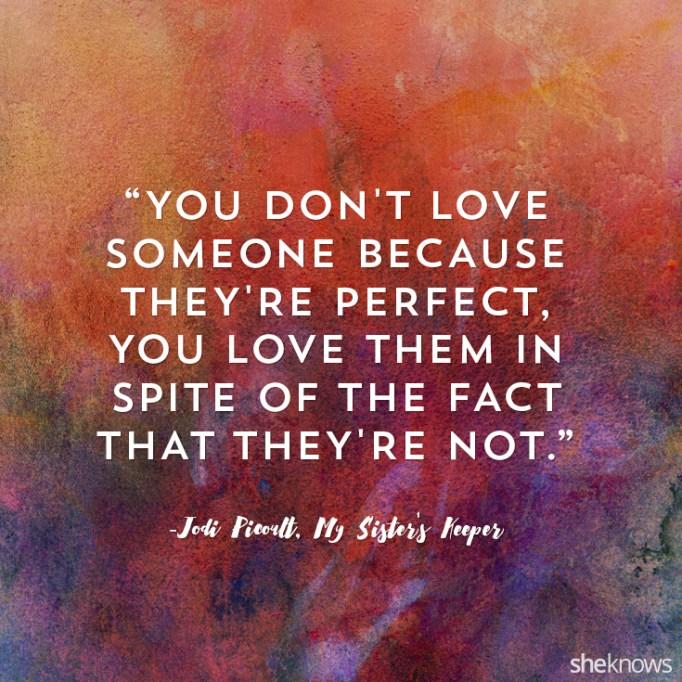 Jodi Picoult love quote