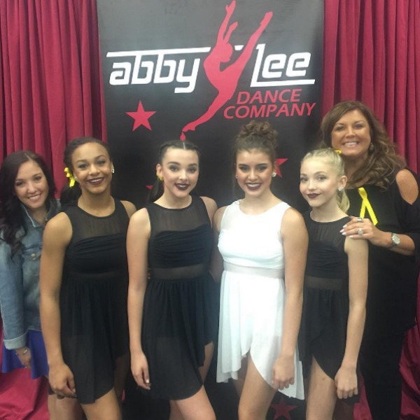 Dance Moms cast and Abby Lee Miller