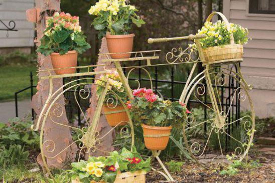 Bicycle plant stands