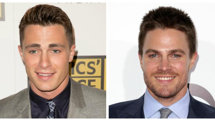 Who's hotter? Stephen Amell vs. Colton