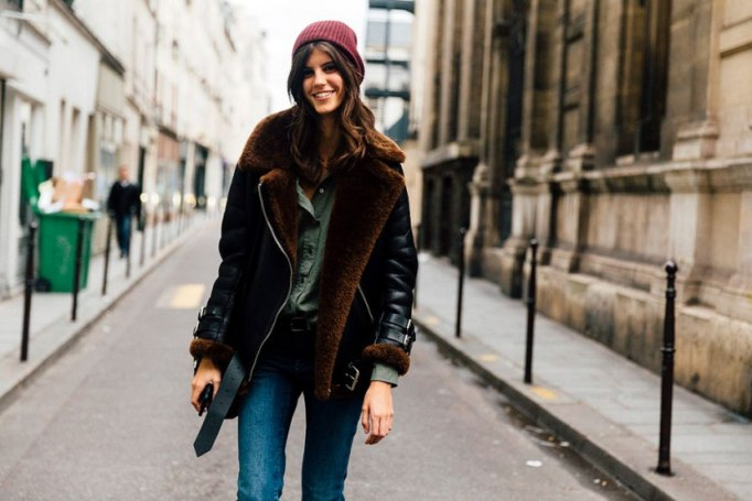 Perfect to Wear Shearling This Season | The cool girl shearling