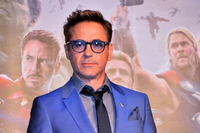 Robert Downey Jr. at 'Avengers' premiere