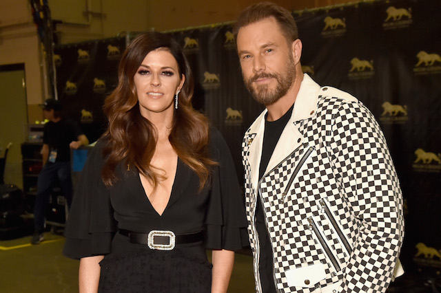 Karen Fairchild and Jimi Westbrook attend the 53rd Academy of Country Music Awards
