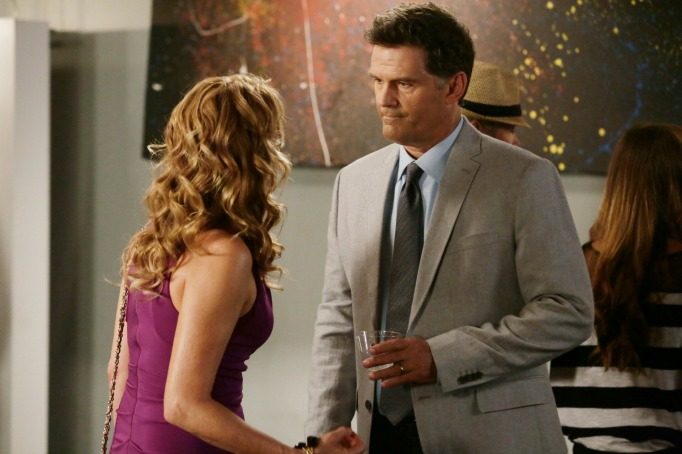Kathryn and John on Switched at Birth