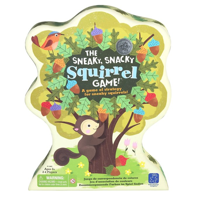 13 Children's Books for National Read A Book Day: The Sneaky, Snacky Squirrel