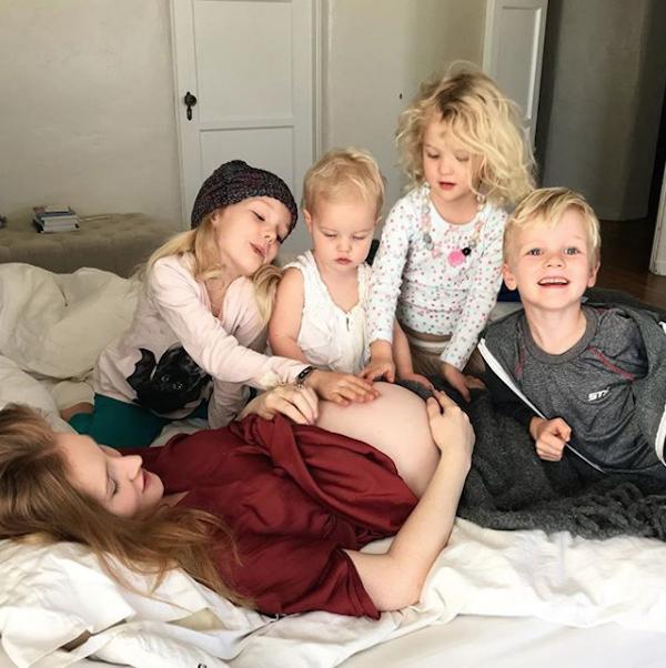 Celebrities having babies in 2018: James and Kimberly Van Der Beek
