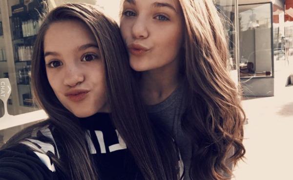 Maddie Ziegler and Mackenzie Ziegler