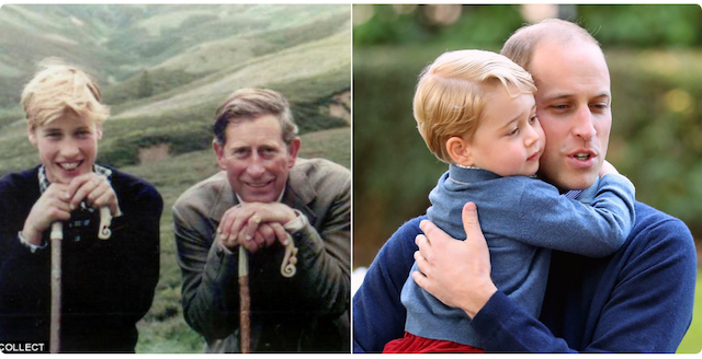 Celebrity Dads on Father's Day 2017: Prince Charles & Prince William
