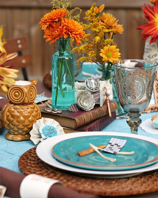 18 Homemade Thanksgiving Table Ideas That Even the DIY-Challenged Can Manage: Quirky