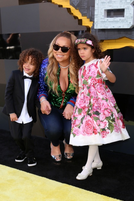 Evolution of Mariah Carey: Motherhood