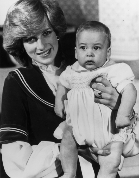 Prince William baby pictures