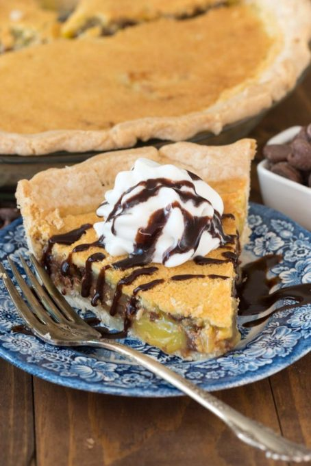 New Twists on Classic Thanksgiving Pies: Easy Chocolate Chip Chess