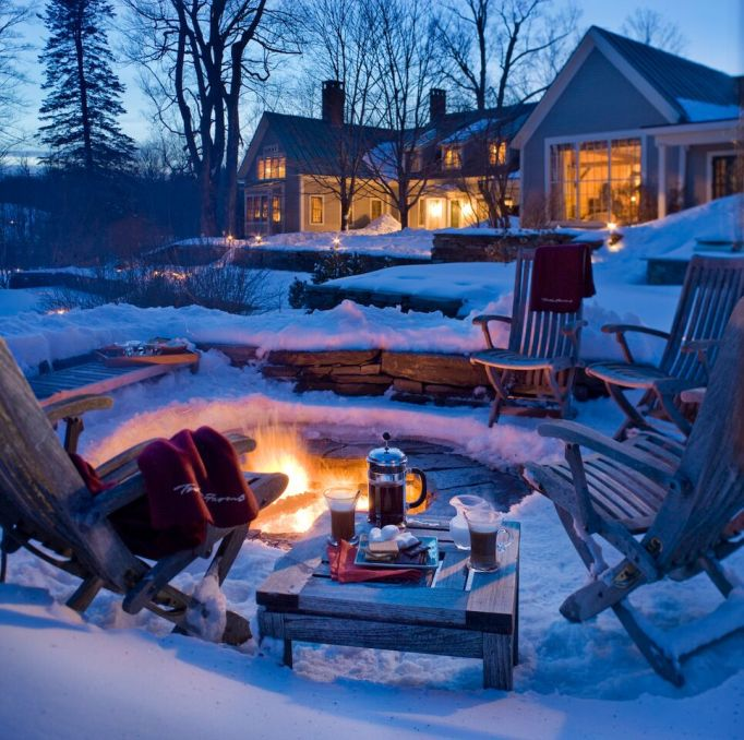 Active Winter Wellness Retreats | Twin Farms