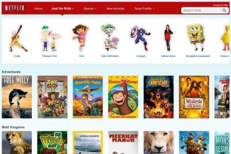 Netflix: Just for Kids
