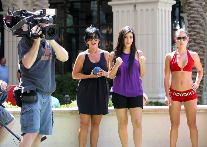 Filming Keeping Up With the Kardashians