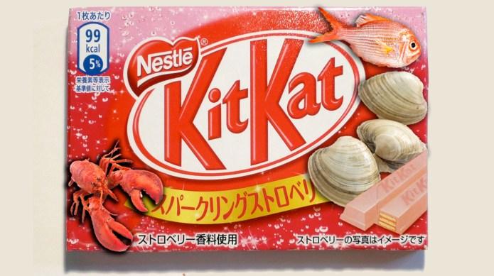 Kit Kat Japan introduces new seafood