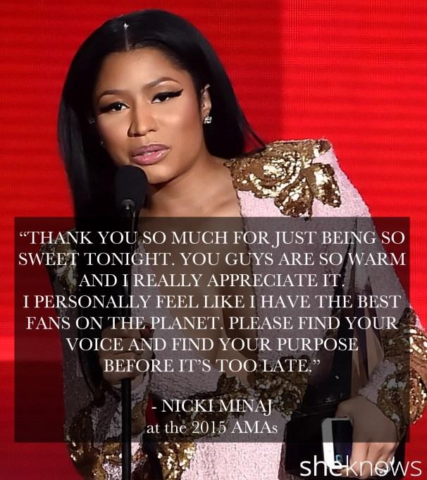 Nicki Minaj 2015 American Music Awards
