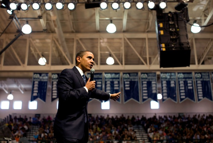 WATCH NOW: President Obama hosts Town