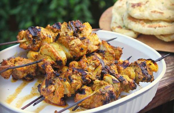 Chicken tikka masala kabob recipe