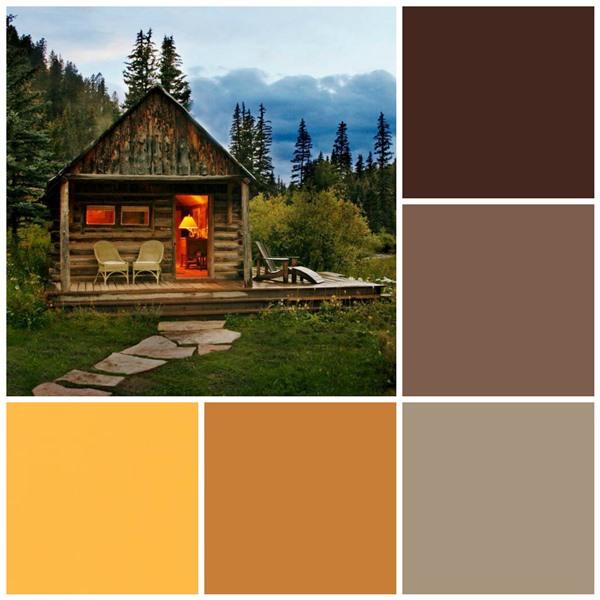 Cabin Retreat color scheme