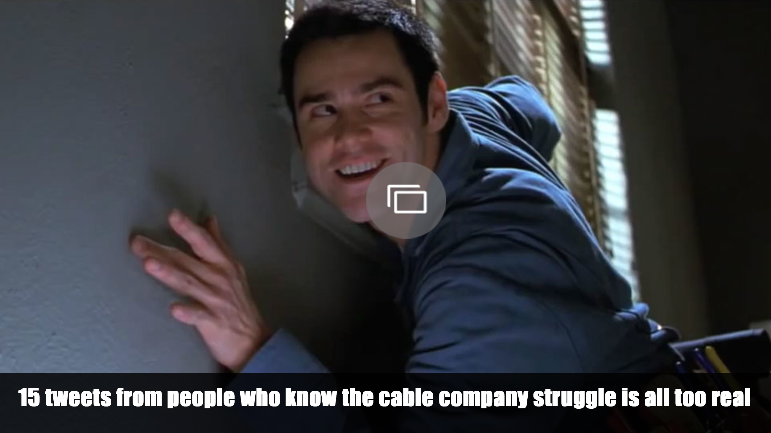 Cable company twitter
