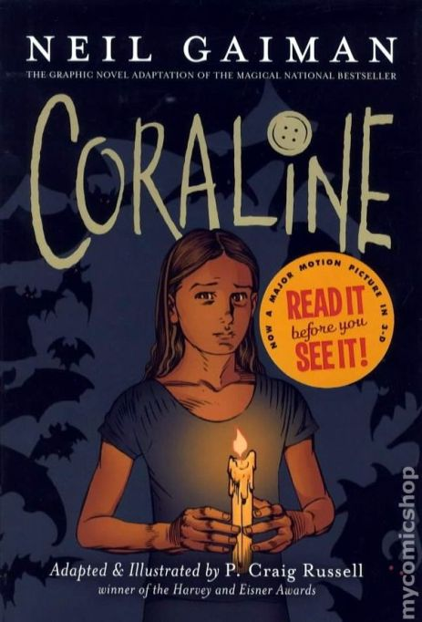 Books for girls: Coraline
