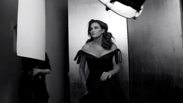 Caitlyn Jenner shares first emotional public
