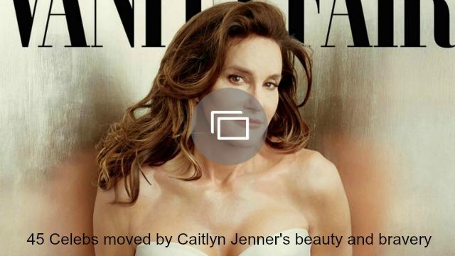 caitlyn jenner bravery celebs slideshow
