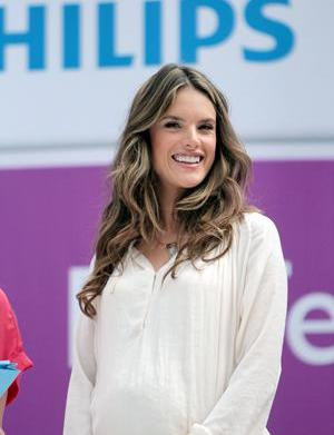 Alessandra Ambrosio gives birth to baby