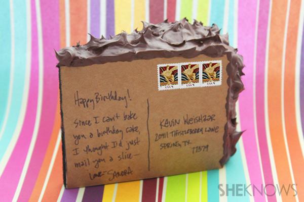 postcard cake | SheKnows.com
