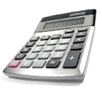 Calculator for budgeting travel