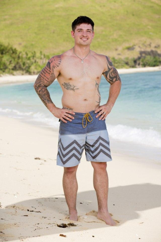 Caleb Reynolds cast photo for Survivor: Game Changers