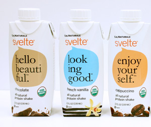 CalNaturale Svelte protein shakes