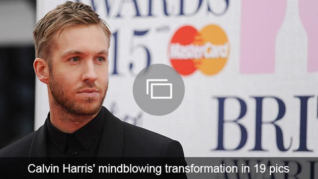 calvin harris transformation slideshow