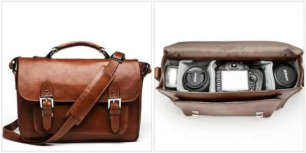 The Brooklyn Camera Bag In Chestnut Onabags 309