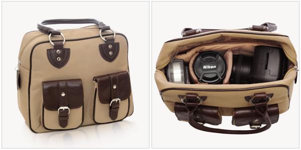 Everywear Gadget Bag in Nougat, jill-e.com, $100